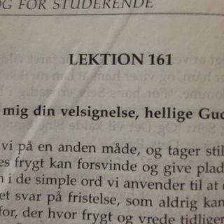 Lektion 161. Et kursus i mirakler.