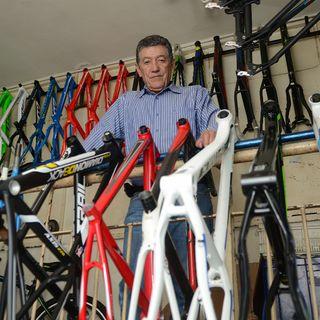 Raúl Mesa gloria del ciclismo colombiano