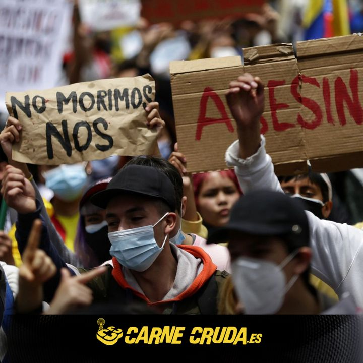 SOS Colombia, la violencia que no cesa (CARNE CRUDA #872)