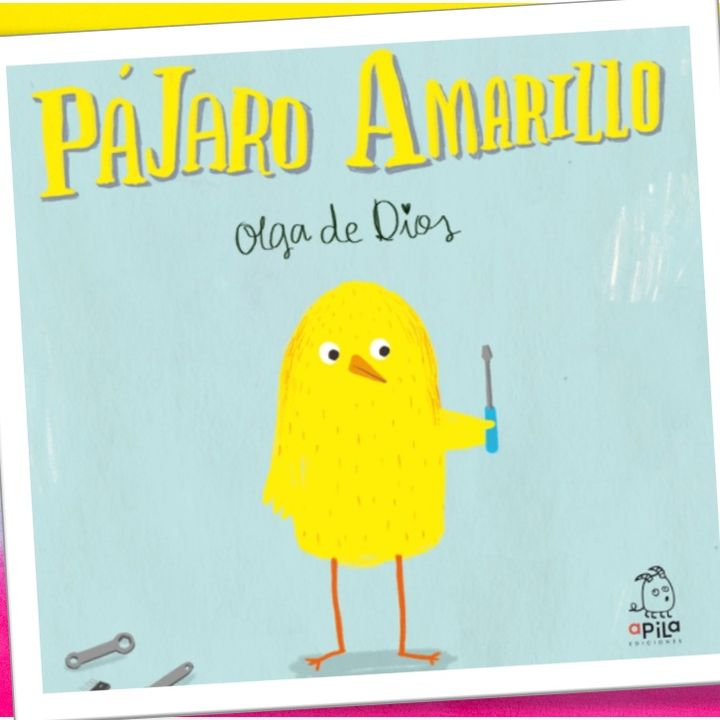 Pájaro amarillo, cuento infantil de Olga de Dios