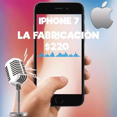 Costo del iPhone 7 32 gb , $220!!! ( solo componentes )