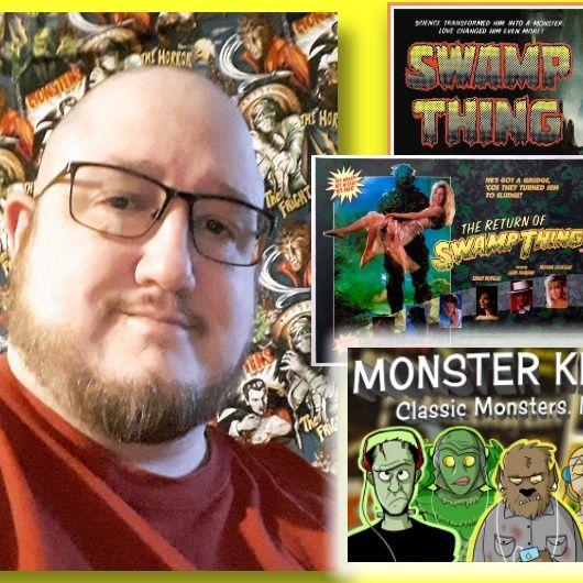 #368: Swamp Thing movie reviews with Monster Kid Radio's Derek M. Koch!