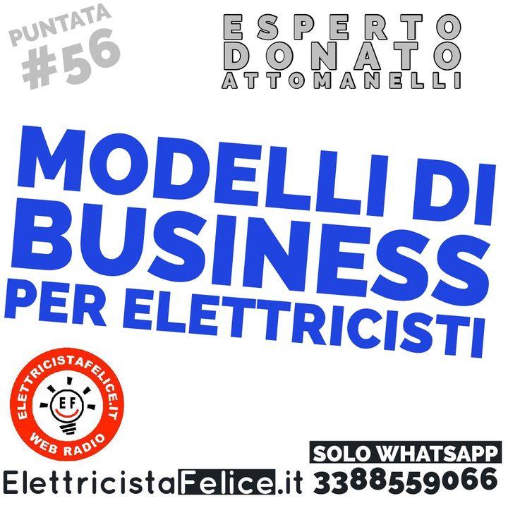 #56 Modelli di business per elettricisti per raggiungere i propri obiettivi
