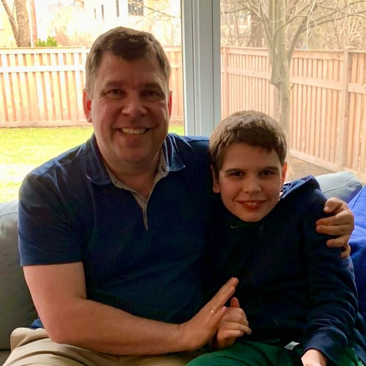 Dad to Dad 75 - Mark Paterson Speaks About the Challenges of Raising a Son With Autism & Little City