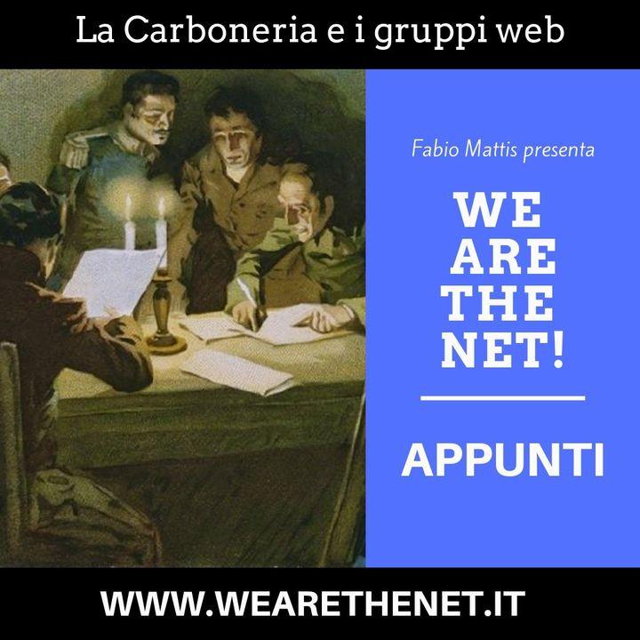 La Carboneria e i gruppi sul web