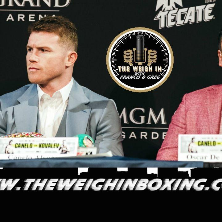 ( WHOA) Oscar De La Hoya says Canelo Alvarez is one dimensional fighter - only STRONG!
