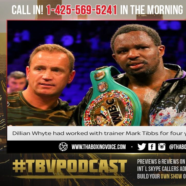 ☎️Dillian White Parts With Mark Tibbs😱 Weeks Before Povetkin Clash😳Bad Move or Will He Be OK❓
