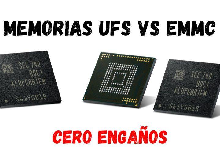 UFS y eMMC, claves en la experiencia de uso en Android