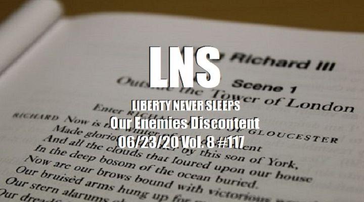 Our Enemies Discontent 06/23/20 Vol. 8 #117