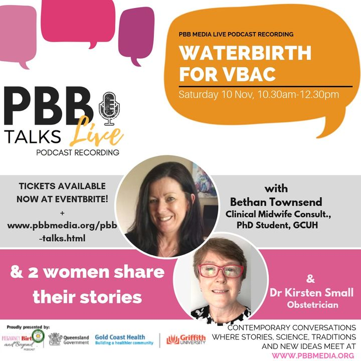 Waterbirth for VBAC Part 2 of 2