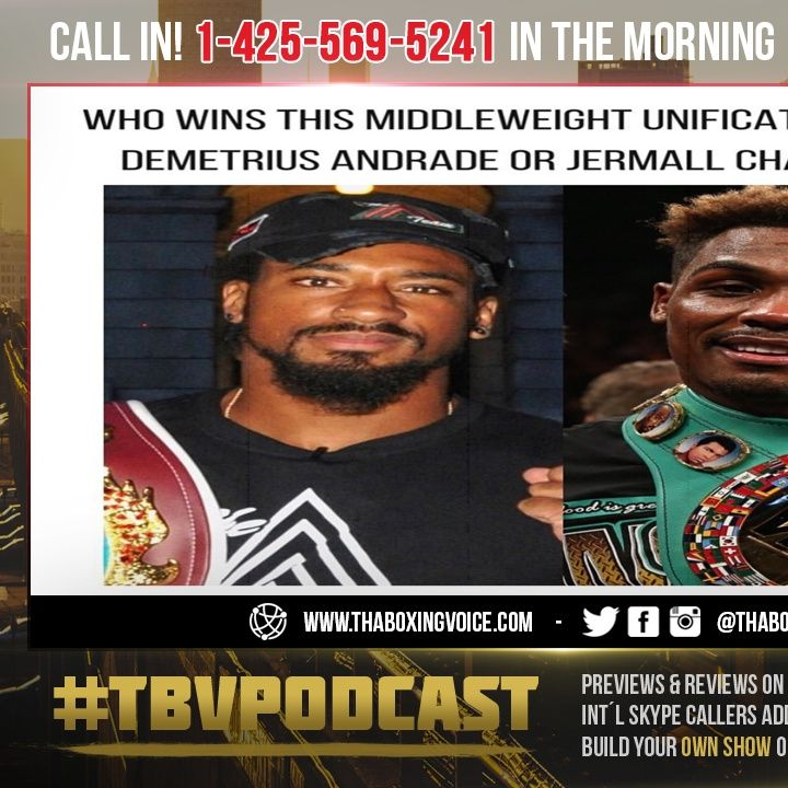 ☎️Eddie Hearn Made a HUGE Offer to Jermall Charlo vs Andrade 🔥Unification in MAY❗️