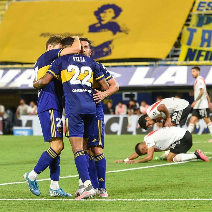 Gol de Boca: Sebastián Villa 2-2