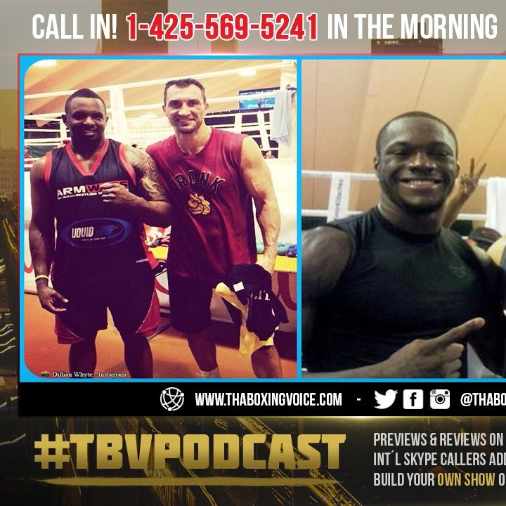 ☎️Dillian Whyte: I Saw 👀Klitschko Knock Deontay Wilder Out Cold in Sparring😱❗️