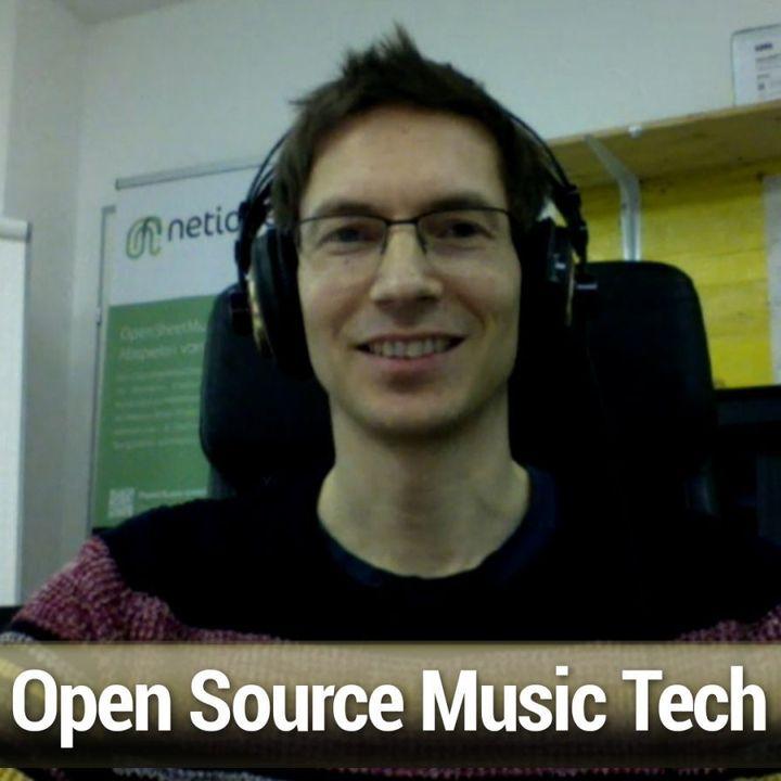 FLOSS Weekly 612: Open Sheet Music Display - Open Source Music Tech