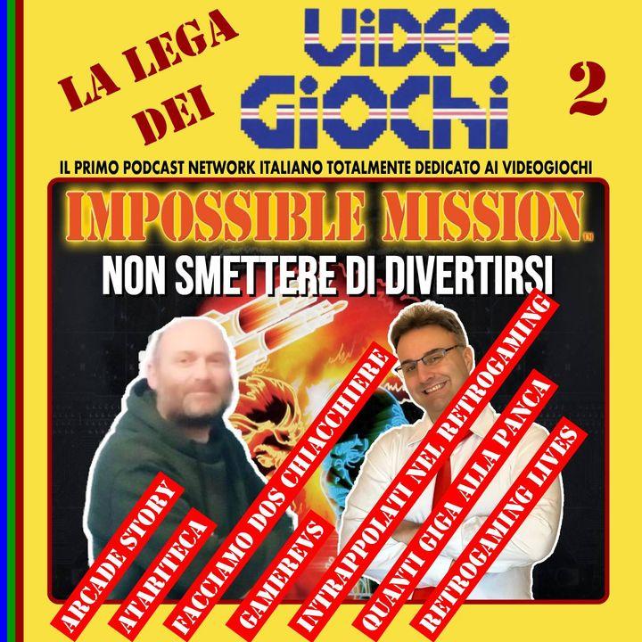 Ep.51 - IMPOSSIBLE MISSION: Il giorno sbagliato per smettere di divertirsi con Massimo Belardi di QUANTI GIGA ALLA PANCA