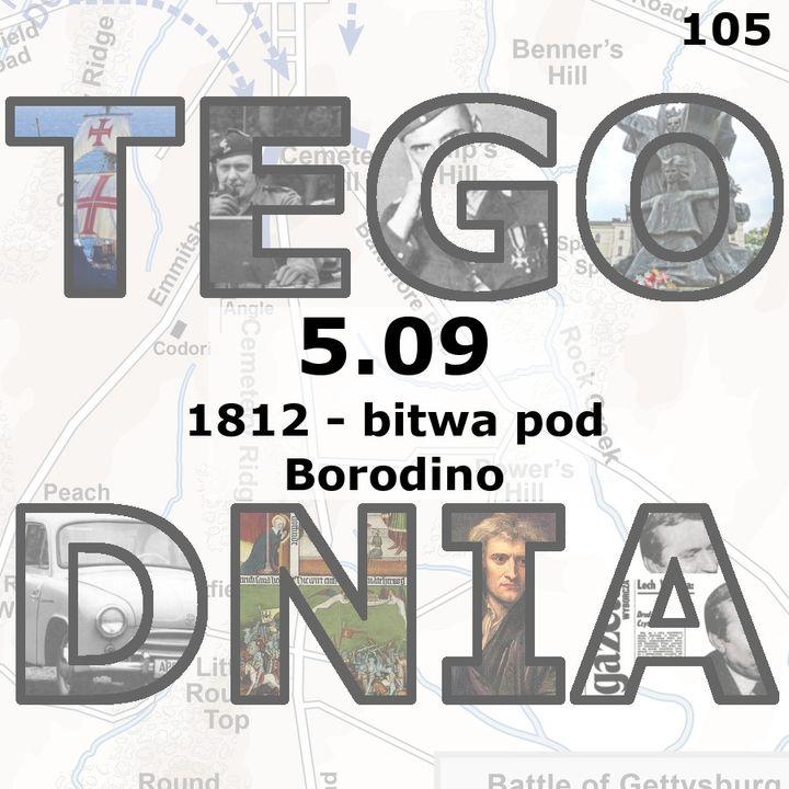 Tego dnia: 5 września (bitwa pod Borodino)