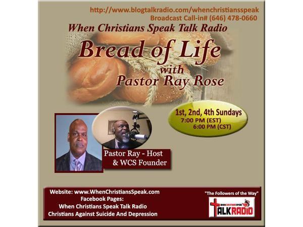 Bread of Life with Rev. Ray: Hosanna Type Prayer is Still Needed!