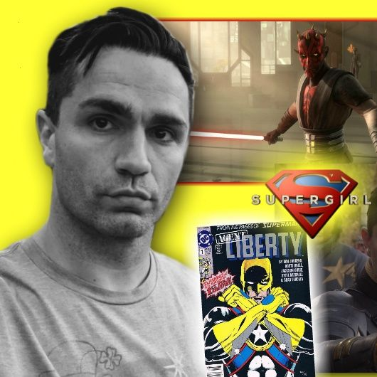 #273: Sam Witwer, Star Wars' Darth Maul, Smallville's Doomsday, and Supergirl's Agent Liberty!