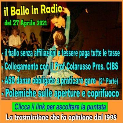 il Ballo in Radio di Tony Mantineo n° 206