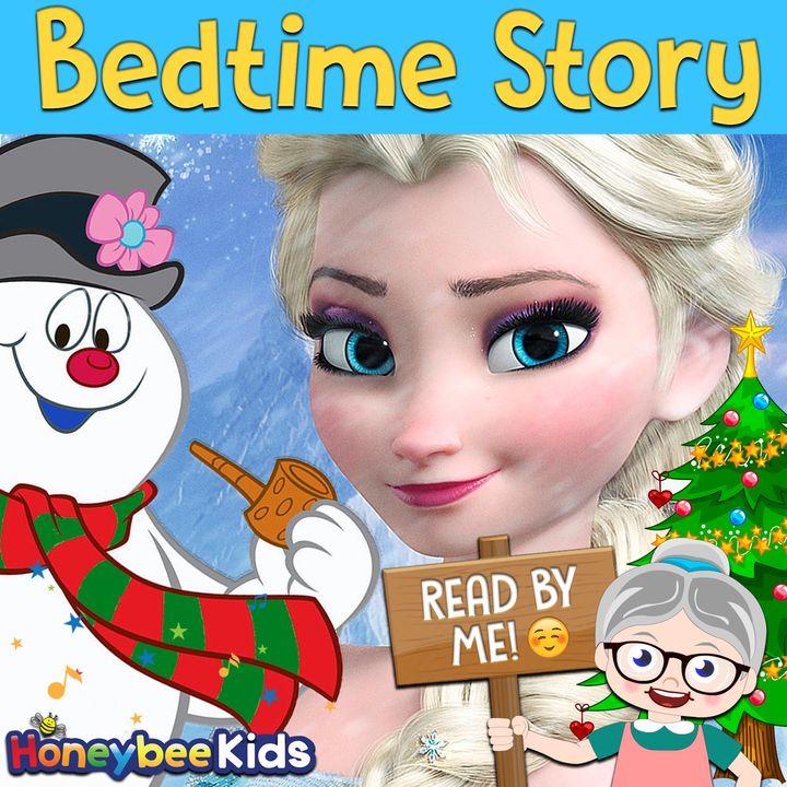Elsa Meets Frosty - Christmas Story #3