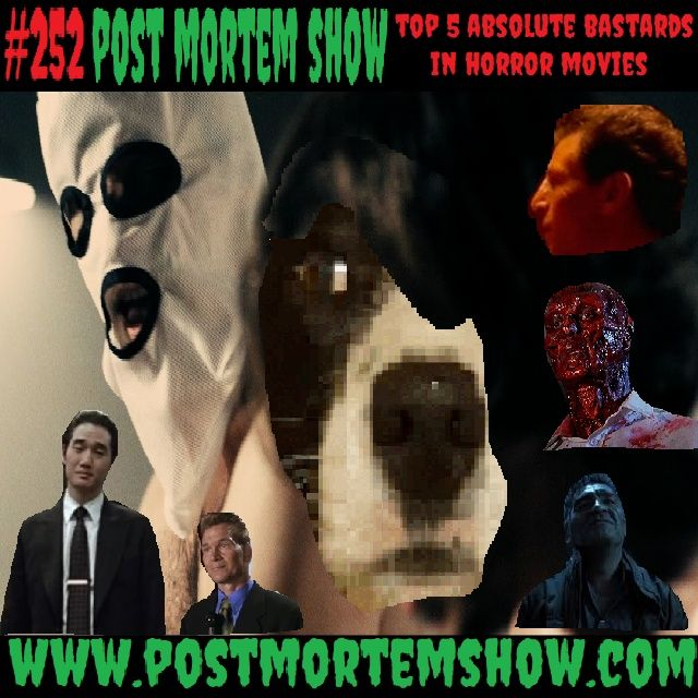 e252 - Tucked Zigs (Top 5 Absolute Bastards in Horror Movies)