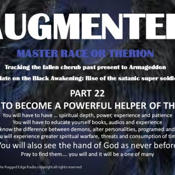 AUGMENTED PART 22 HOW TO HELP THE SRA ....where to begin