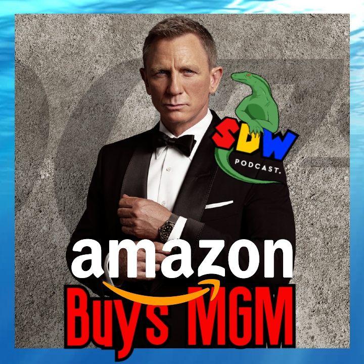 Amazon Buys MGM for $8.4 Billion