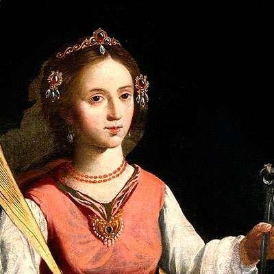 Santa Apolonia, virgen y mártir