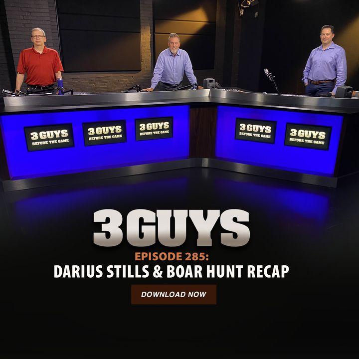 Darius Stills and Boar Hunt Recap with Tony Caridi, Brad Howe and Hoppy Kercheval