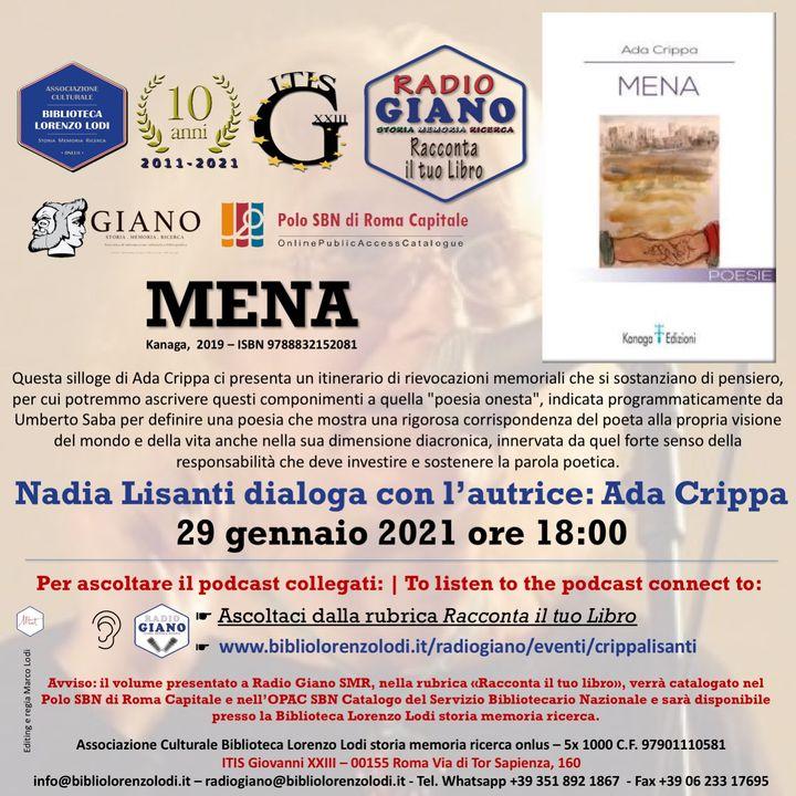 L'ACBLL presenta : Nadia Lisanti dialoga con Ada Crippa   Mena