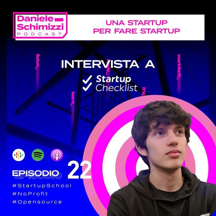 Episodio 22 | Una Startup per fare startup - Intervista a Startup Checklist