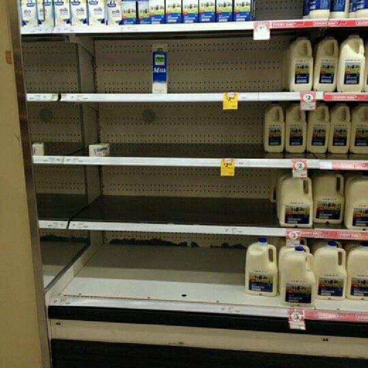 Supermercati Presi D'assalto Calabria!
