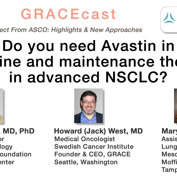 Do you need Avastin in first line and maintenance therapy in advanced NSCLC?