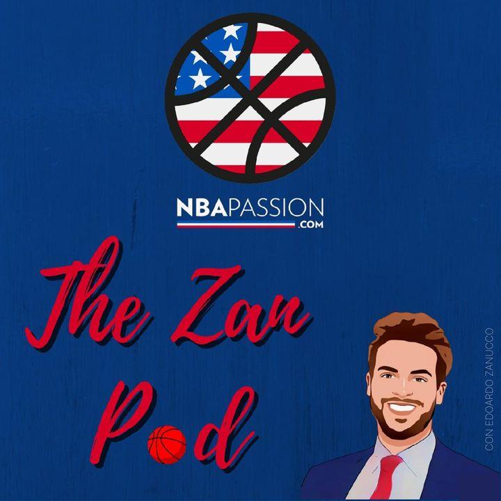 NBA Passion - The Zan Pod #5: Sì, ma Serie A ed Eurolega? (Ospite Pietro Pisaneschi, telecronista Eurosport)