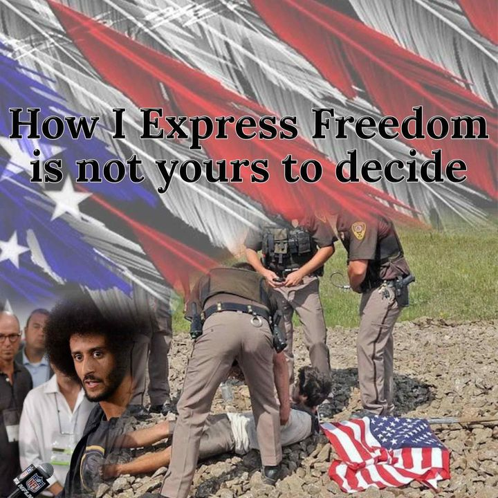 Episode 44 How I express freedom is not yours to decide
