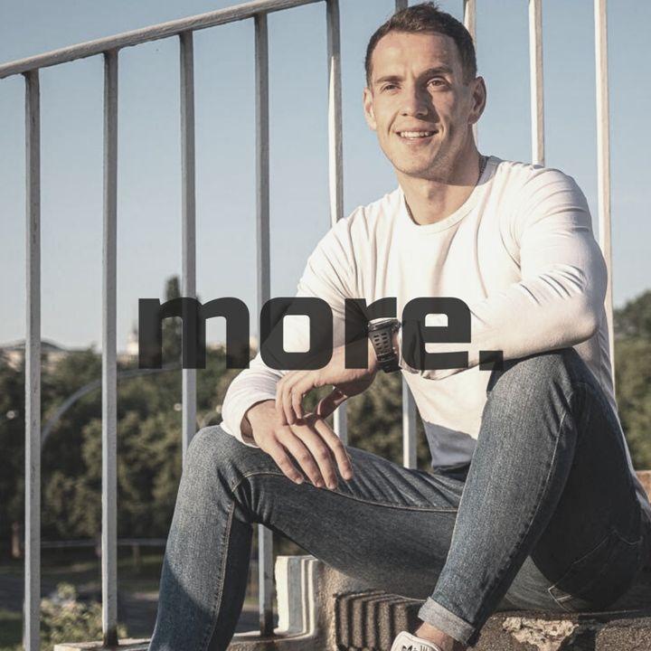 """more. than training ep. 24 - Mateusz Brela """"Budowanie pewności siebie powinno rozpocząć się od edukacji"""""""