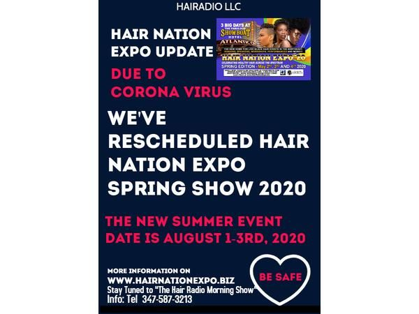 The Hair Radio Morning Show #423  Friday, March 27th, 2020
