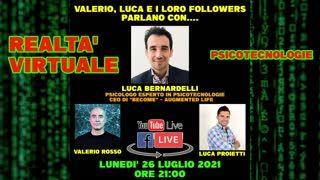 Ep. #289 - [LIVE] Incontro con Luca Bernardelli, CEO di BECOME - Augmented Life
