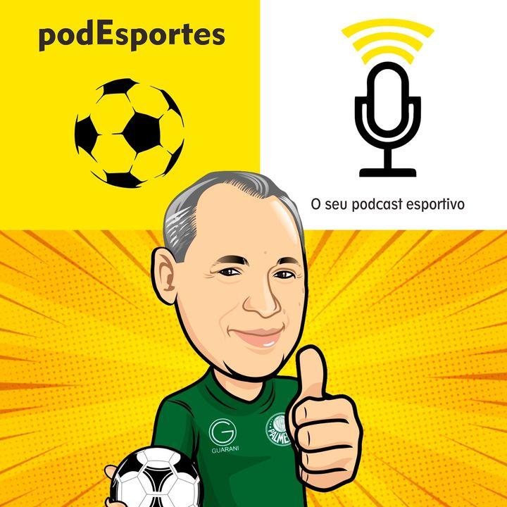TBT podEsportes com Evair, centroavante que marcou história no Guarani e no Palmeiras