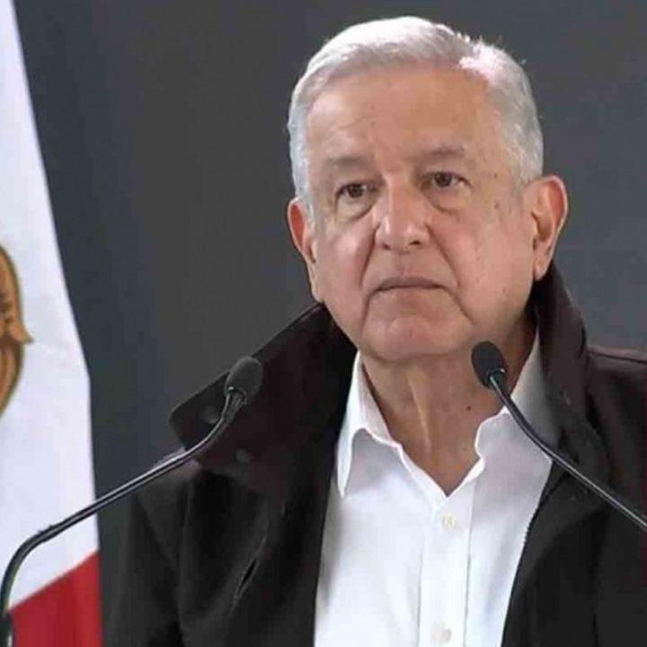 López Obrador, manifestó su deseo de que pronto se recupere la normalidad