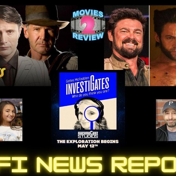 Sci Fi News Indiana Jones 5 Gates McFadden Star Trek Podcast Marvel Wolverine Rumors