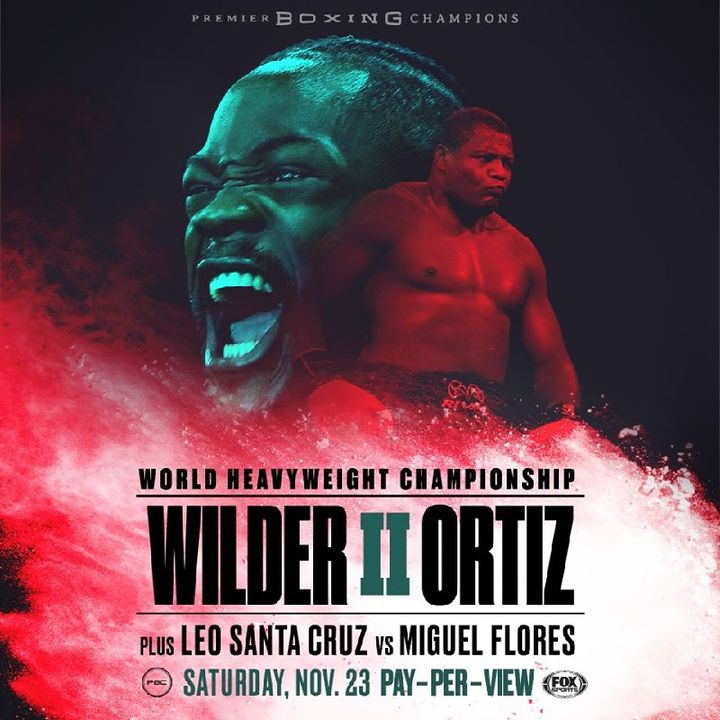 Preview Of PBConFox Card Headlined By Deontay Wilder Vs Luis Ortiz For WBC World Heavyweight Titlefight