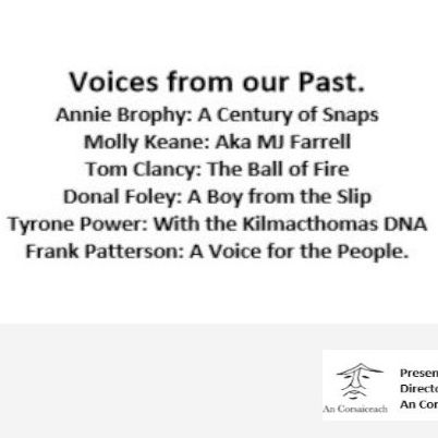 Voices from our Past on WLR
