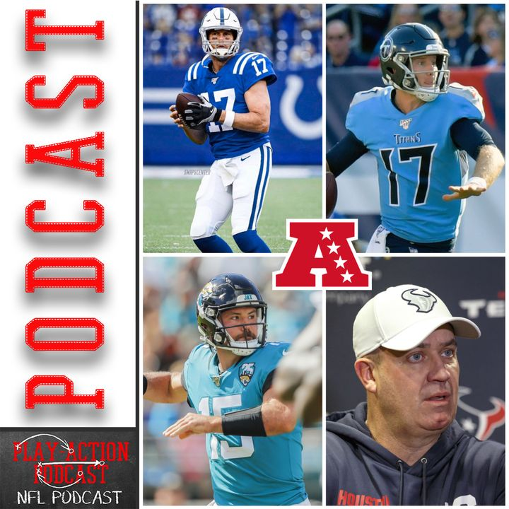 Play-Action Podcast 002: NFL Preview AFC South