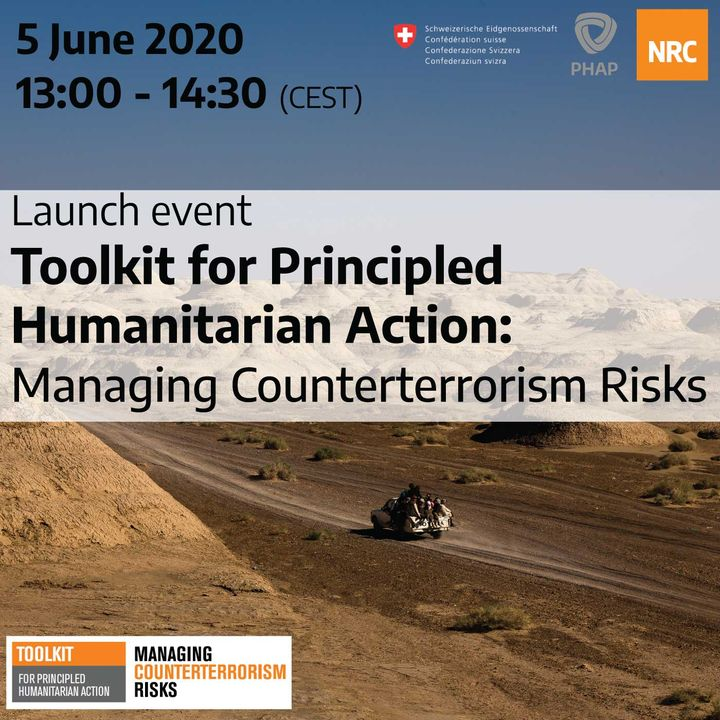 Launch event: Toolkit for principled humanitarian action – Managing counterterrorism risks