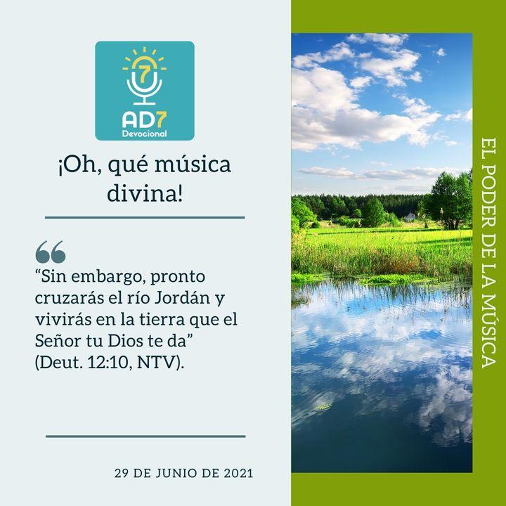 29 de junio - ¡Oh, qué música divina! - Devocional de Jóvenes - Etiquetas Para Reflexionar