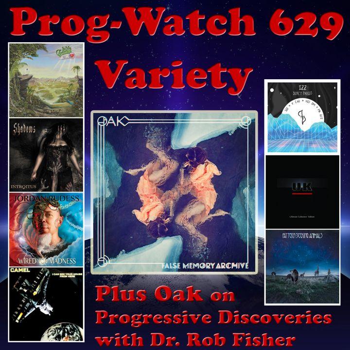 Episode 629 - Variety + Oak on Progressive Discoveries