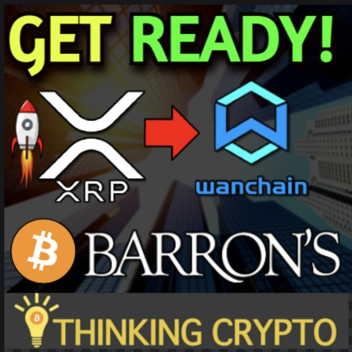 XRP Pumps To $1.47 & XRP Wanchain DeFi Integration - Bitcoin on Barron's Newspaper Cover