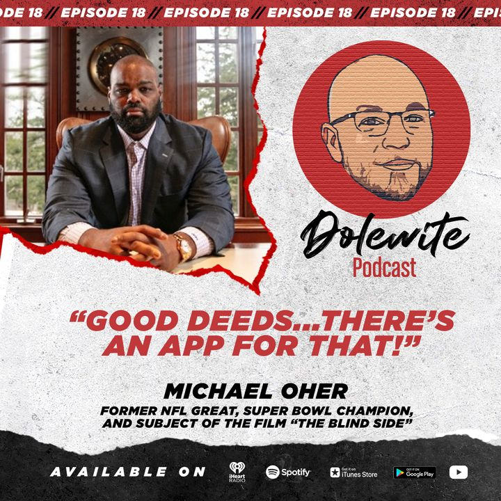 Good deeds... There's an app for that with Michael Oher