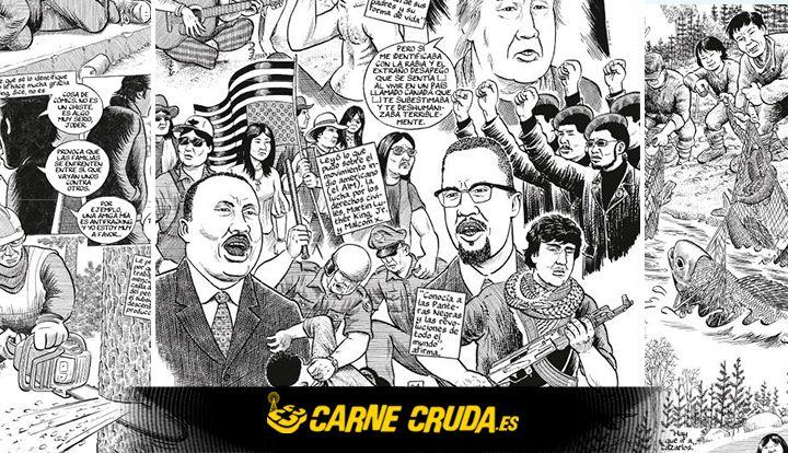Carne Cruda - Joe Sacco y Califato ¾: tributo a la tierra (#768)